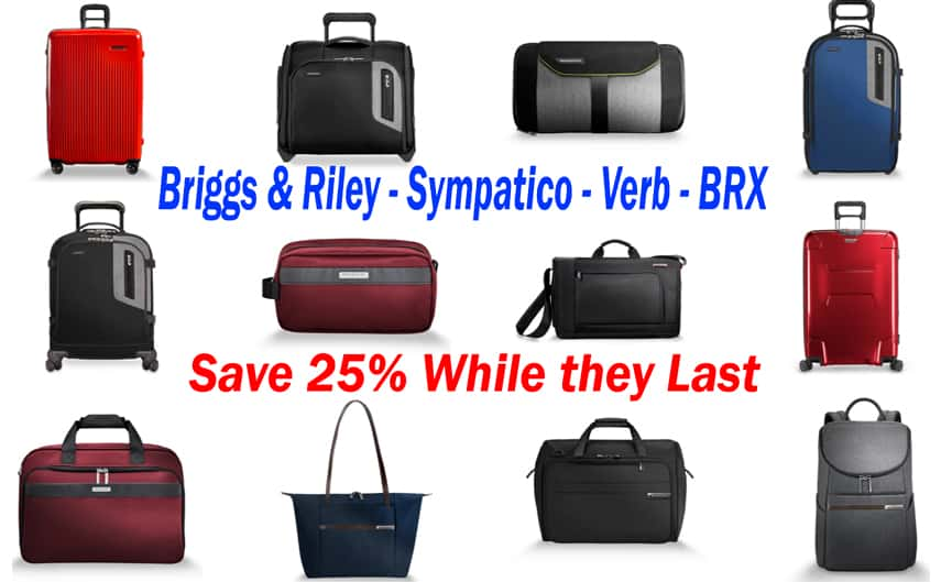 Saying Goodbye is so hard to do, so we Create a Sale. All Briggs & Riley Red & Bronze Colors Sympatic Luggage is 25% off. This includes In-Stock and Special Orders while they Last There is no substitute for performance & style, and the Sympatico collection embodies this philosophy. Sleek, stylish, strong, and lightweight collection of hardside luggage that boasts the world's only CX™ compression-expansion technology. It is also protected by a global lifetime performance guarantee, the only guarantee that cover Normal usage and airline damage too. #BriggsandRiley #luggage #Travel #TravelingBags