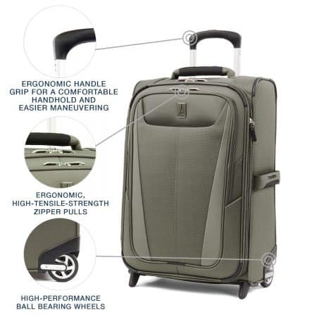 Maxlite 5 Softside Luggage Outside