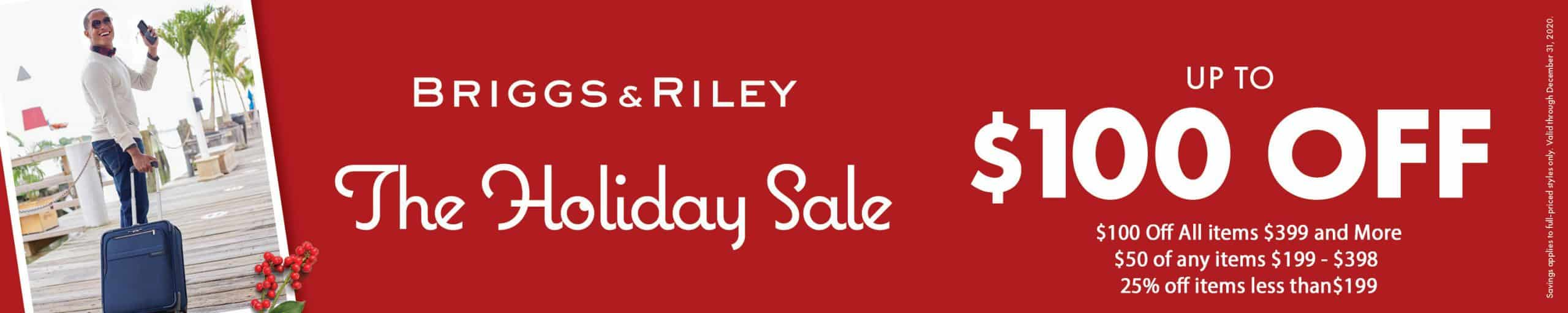 Traveling-Bags-Brigge-Riley-Holiday Luggage sale 2020-Sale